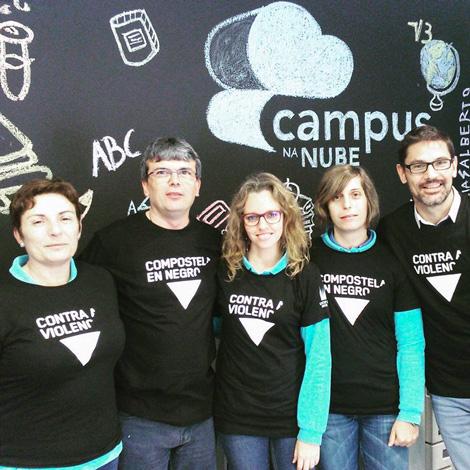 Campus na Nube - 25N Compostela en Negro - Uqui.net