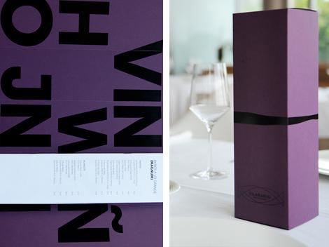 Carta de vinos del Restaurante Silabario (uqui)