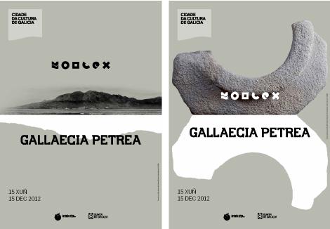 Carteles Gallaecia, Geología y Roma (uqui)
