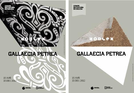 Carteles Gallaecia, Moderna y Contemporanea (uqui)