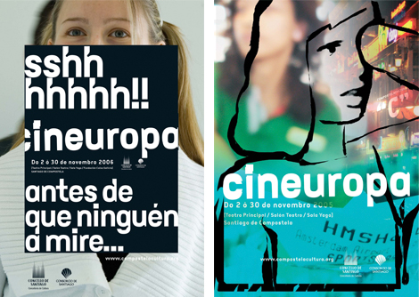 Carteles Cineuropa 2006 y 2005 (uqui)