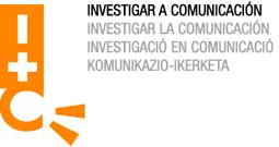 Logotipo Congreso do Investigar a Comunicación cor (uqui)