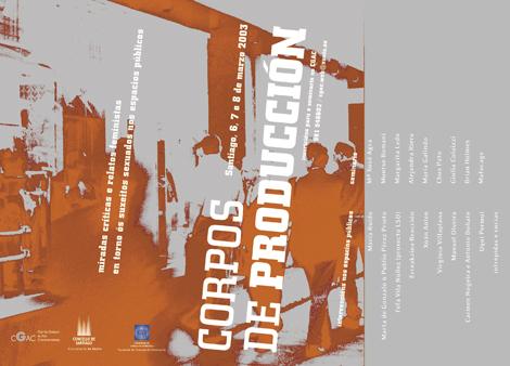 cartel xenérico Corpos de Producción (uqui)