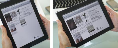 Web do e-auditorio de Galicia en dispositivos móbiles (uqui)