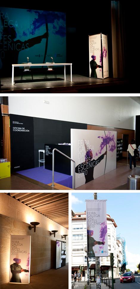 Espazos da Feira de Artes Escénicas 2010 (uqui)