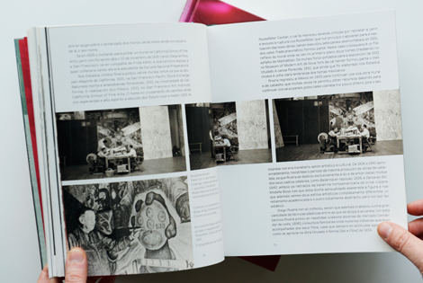 Páxinas interior catálogo Diego Rivera (uqui)