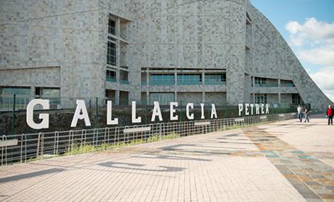 Fachada de la exposición Gallaecia Petrea (uqui)
