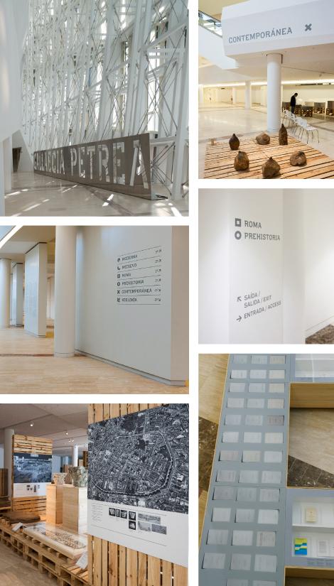 Imaxes da exposición Gallaecia Petrea (uqui)