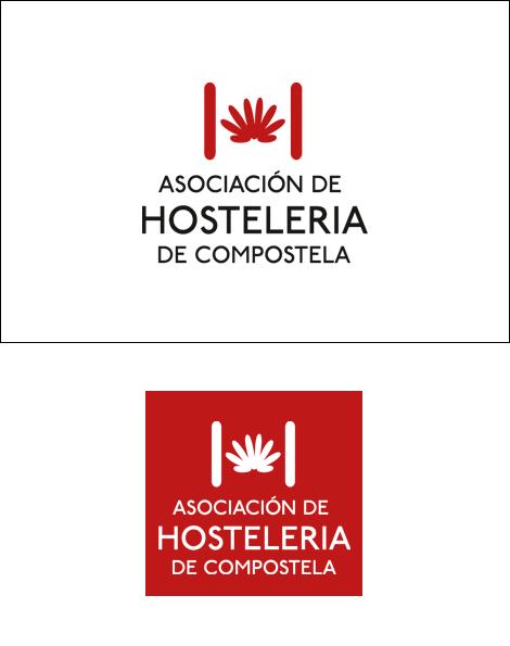 Logotipo Asociación de Hostelería de Compostela (uqui)