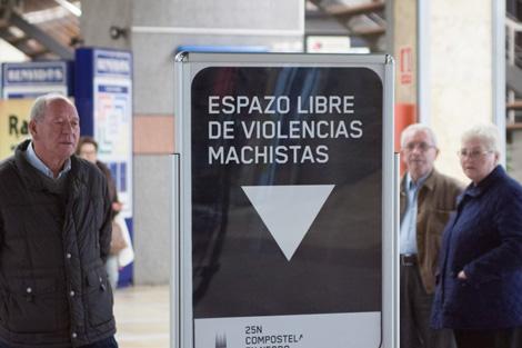 Área Central - 25N Compostela en Negro - Uqui.net