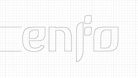 Lettering pautado ENFO (uqui)