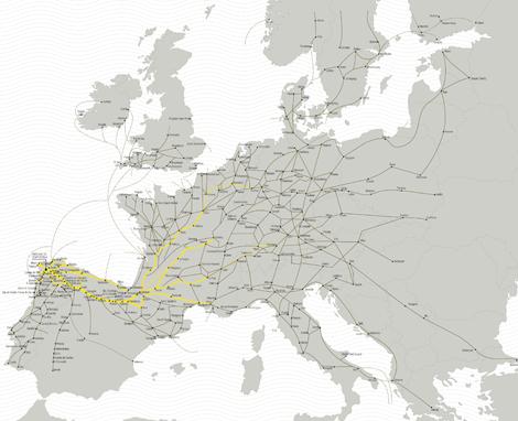 Camiños de Santiago en Europa (uqui)