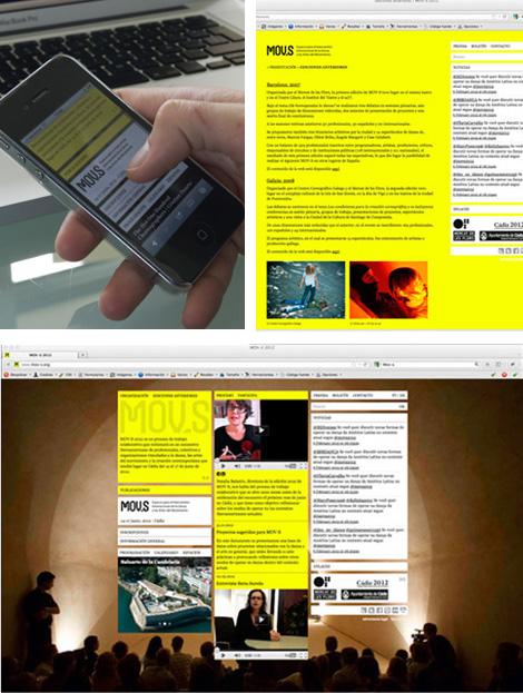 Imágenes de la página de MOV-S (uqui)