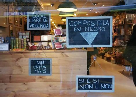 Natura - 25N Compostela en Negro - Uqui.net