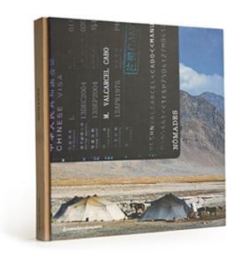 Portada do catálogo de Nómades (uqui)