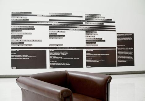 Panel de la exposición del Proxecto-Edición (uqui)