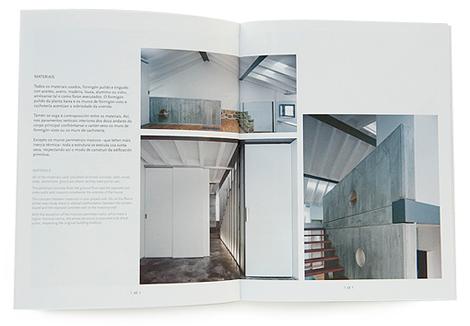 "Interior do libro dos Premios de Arquitectura ""Rodríguez Peña"" (uqui)"