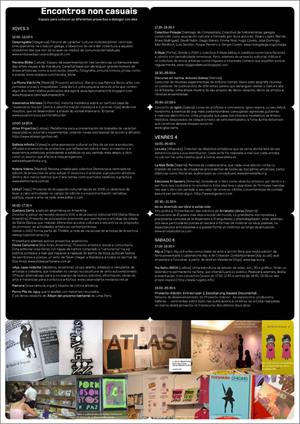 Programa (interior) da Feria do Proxecto-Edición (uqui)