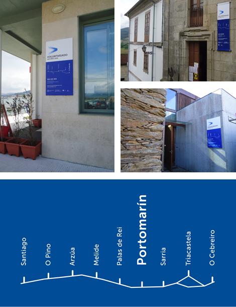 Imágenes de rótulos para el Voluntariado Xacobeo 2010 (uqui)
