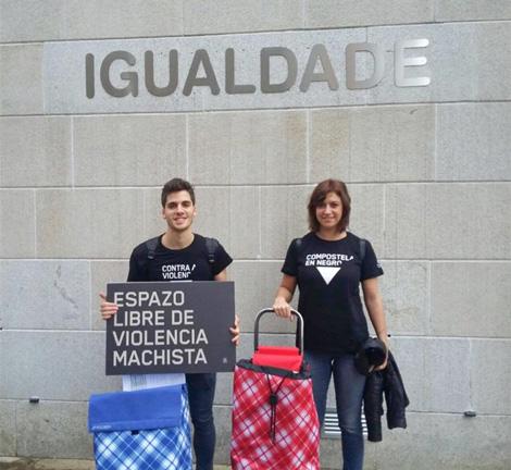 Voluntarios - 25N Compostela en Negro - Uqui.net