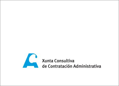 Logotipo Xunta Consultiva de Contratación Administrativa cor (uqui)